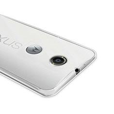 Silikon Hülle Handyhülle Ultra Dünn Schutzhülle Durchsichtig Transparent für Google Nexus 6 Klar