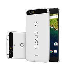 Silikon Hülle Handyhülle Ultra Dünn Schutzhülle Durchsichtig Transparent für Google Nexus 6P Klar