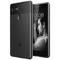 Silikon Hülle Handyhülle Ultra Dünn Schutzhülle Durchsichtig Transparent für Google Pixel 2 XL Klar
