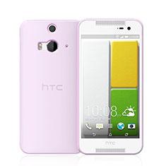 Silikon Hülle Handyhülle Ultra Dünn Schutzhülle Durchsichtig Transparent für HTC Butterfly 2 Rosa