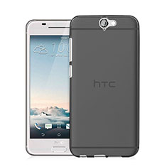 Silikon Hülle Handyhülle Ultra Dünn Schutzhülle Durchsichtig Transparent für HTC One A9 Grau