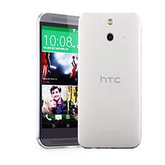 Silikon Hülle Handyhülle Ultra Dünn Schutzhülle Durchsichtig Transparent für HTC One E8 Klar