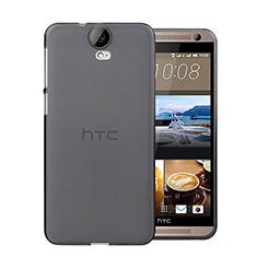 Silikon Hülle Handyhülle Ultra Dünn Schutzhülle Durchsichtig Transparent für HTC One E9 Plus Grau
