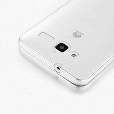 Silikon Hülle Handyhülle Ultra Dünn Schutzhülle Durchsichtig Transparent für Huawei Ascend GX1 Klar