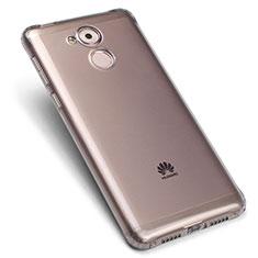 Silikon Hülle Handyhülle Ultra Dünn Schutzhülle Durchsichtig Transparent für Huawei Enjoy 6S Grau