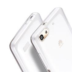 Silikon Hülle Handyhülle Ultra Dünn Schutzhülle Durchsichtig Transparent für Huawei G Play Mini Klar
