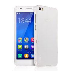 Silikon Hülle Handyhülle Ultra Dünn Schutzhülle Durchsichtig Transparent für Huawei Honor 6 Klar