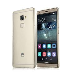 Silikon Hülle Handyhülle Ultra Dünn Schutzhülle Durchsichtig Transparent für Huawei Mate S Weiß