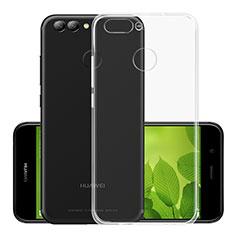 Silikon Hülle Handyhülle Ultra Dünn Schutzhülle Durchsichtig Transparent für Huawei Nova 2 Plus Klar