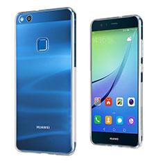 Silikon Hülle Handyhülle Ultra Dünn Schutzhülle Durchsichtig Transparent für Huawei P10 Lite Klar