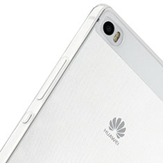 Silikon Hülle Handyhülle Ultra Dünn Schutzhülle Durchsichtig Transparent für Huawei P8 Max Klar