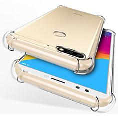 Silikon Hülle Handyhülle Ultra Dünn Schutzhülle Durchsichtig Transparent für Huawei Y7 (2018) Klar