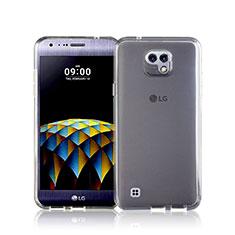 Silikon Hülle Handyhülle Ultra Dünn Schutzhülle Durchsichtig Transparent für LG X Cam Weiß