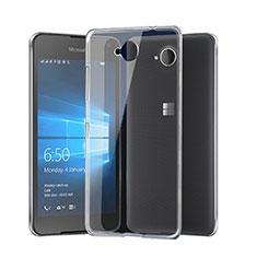 Silikon Hülle Handyhülle Ultra Dünn Schutzhülle Durchsichtig Transparent für Microsoft Lumia 650 Klar
