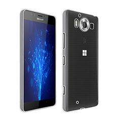 Silikon Hülle Handyhülle Ultra Dünn Schutzhülle Durchsichtig Transparent für Microsoft Lumia 950 Klar