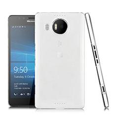 Silikon Hülle Handyhülle Ultra Dünn Schutzhülle Durchsichtig Transparent für Microsoft Lumia 950 XL Klar