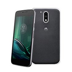 Silikon Hülle Handyhülle Ultra Dünn Schutzhülle Durchsichtig Transparent für Motorola Moto G4 Plus Klar