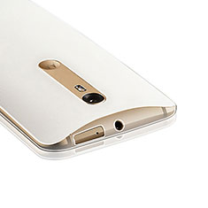 Silikon Hülle Handyhülle Ultra Dünn Schutzhülle Durchsichtig Transparent für Motorola Moto X Style Klar
