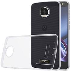 Silikon Hülle Handyhülle Ultra Dünn Schutzhülle Durchsichtig Transparent für Motorola Moto Z Play Klar