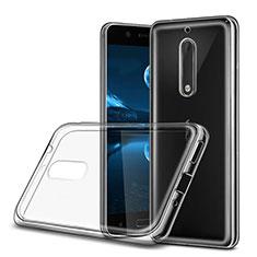 Silikon Hülle Handyhülle Ultra Dünn Schutzhülle Durchsichtig Transparent für Nokia 5 Klar