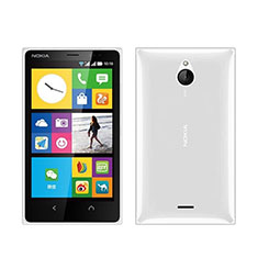 Silikon Hülle Handyhülle Ultra Dünn Schutzhülle Durchsichtig Transparent für Nokia X2 Dual Sim Weiß