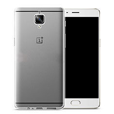 Silikon Hülle Handyhülle Ultra Dünn Schutzhülle Durchsichtig Transparent für OnePlus 3 Klar