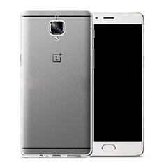 Silikon Hülle Handyhülle Ultra Dünn Schutzhülle Durchsichtig Transparent für OnePlus 3T Klar