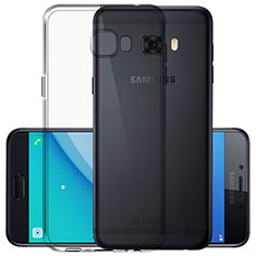 Silikon Hülle Handyhülle Ultra Dünn Schutzhülle Durchsichtig Transparent für Samsung Galaxy C5 Pro C5010 Klar