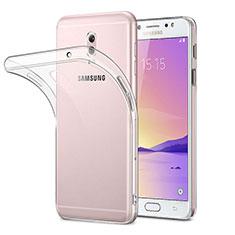 Silikon Hülle Handyhülle Ultra Dünn Schutzhülle Durchsichtig Transparent für Samsung Galaxy C8 C710F Klar