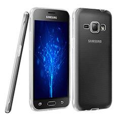 Silikon Hülle Handyhülle Ultra Dünn Schutzhülle Durchsichtig Transparent für Samsung Galaxy J1 (2016) J120F Klar