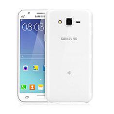Silikon Hülle Handyhülle Ultra Dünn Schutzhülle Durchsichtig Transparent für Samsung Galaxy J3 Klar