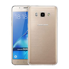 Silikon Hülle Handyhülle Ultra Dünn Schutzhülle Durchsichtig Transparent für Samsung Galaxy J5 (2016) J510FN J5108 Klar