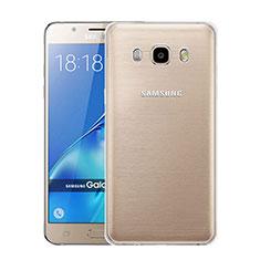 Silikon Hülle Handyhülle Ultra Dünn Schutzhülle Durchsichtig Transparent für Samsung Galaxy J5 Duos (2016) Klar