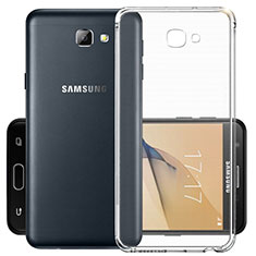 Silikon Hülle Handyhülle Ultra Dünn Schutzhülle Durchsichtig Transparent für Samsung Galaxy J7 Prime Klar