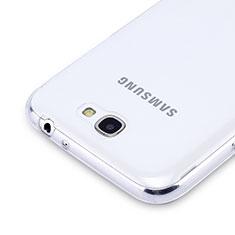 Silikon Hülle Handyhülle Ultra Dünn Schutzhülle Durchsichtig Transparent für Samsung Galaxy Note 2 N7100 N7105 Klar