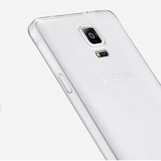 Silikon Hülle Handyhülle Ultra Dünn Schutzhülle Durchsichtig Transparent für Samsung Galaxy Note 4 SM-N910F Klar