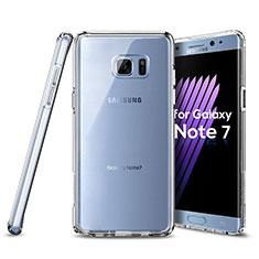 Silikon Hülle Handyhülle Ultra Dünn Schutzhülle Durchsichtig Transparent für Samsung Galaxy Note 7 Klar