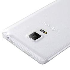 Silikon Hülle Handyhülle Ultra Dünn Schutzhülle Durchsichtig Transparent für Samsung Galaxy Note Edge SM-N915F Klar