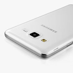 Silikon Hülle Handyhülle Ultra Dünn Schutzhülle Durchsichtig Transparent für Samsung Galaxy On5 G550FY Klar