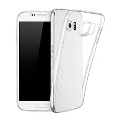 Silikon Hülle Handyhülle Ultra Dünn Schutzhülle Durchsichtig Transparent für Samsung Galaxy S6 SM-G920 Klar