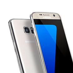 Silikon Hülle Handyhülle Ultra Dünn Schutzhülle Durchsichtig Transparent für Samsung Galaxy S7 G930F G930FD Klar