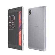 Silikon Hülle Handyhülle Ultra Dünn Schutzhülle Durchsichtig Transparent für Sony Xperia X Weiß