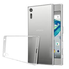 Silikon Hülle Handyhülle Ultra Dünn Schutzhülle Durchsichtig Transparent für Sony Xperia XZs Klar