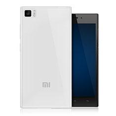 Silikon Hülle Handyhülle Ultra Dünn Schutzhülle Durchsichtig Transparent für Xiaomi Mi 3 Klar