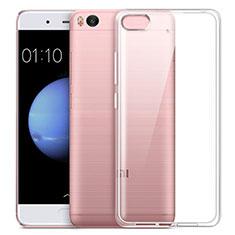 Silikon Hülle Handyhülle Ultra Dünn Schutzhülle Durchsichtig Transparent für Xiaomi Mi 5S Weiß