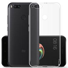 Silikon Hülle Handyhülle Ultra Dünn Schutzhülle Durchsichtig Transparent für Xiaomi Mi A1 Klar