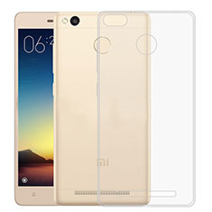 Silikon Hülle Handyhülle Ultra Dünn Schutzhülle Durchsichtig Transparent für Xiaomi Redmi 3X Klar