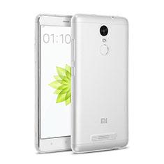 Silikon Hülle Handyhülle Ultra Dünn Schutzhülle Durchsichtig Transparent für Xiaomi Redmi Note 3 Pro Klar