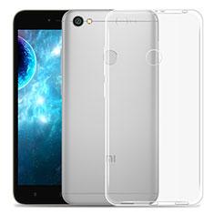 Silikon Hülle Handyhülle Ultra Dünn Schutzhülle Durchsichtig Transparent für Xiaomi Redmi Y1 Klar