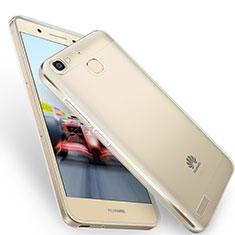 Silikon Hülle Handyhülle Ultra Dünn Schutzhülle Durchsichtig Transparent T05 für Huawei Enjoy 5S Grau